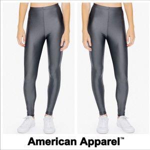 American Apparel Shiny Tricot Leggings